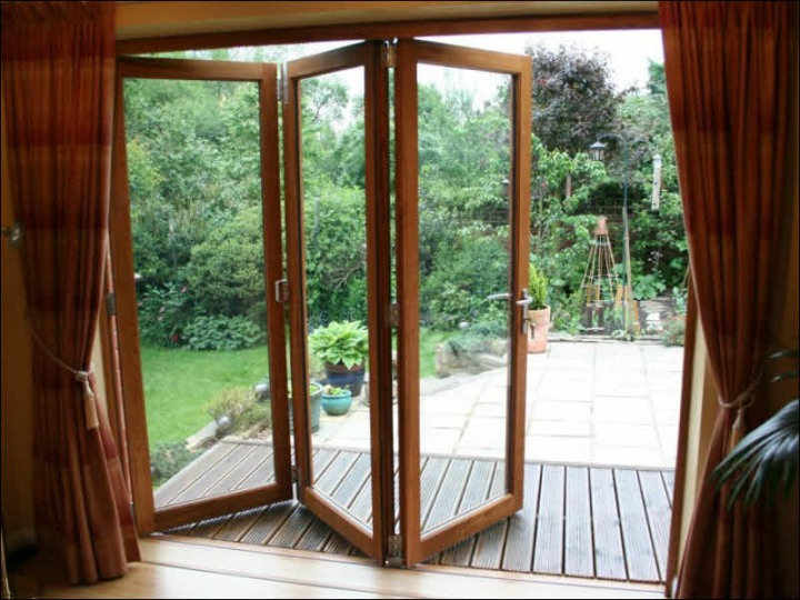 Wooden Folding Doors : Wooden folding door bi fold dia home mediniai pvc